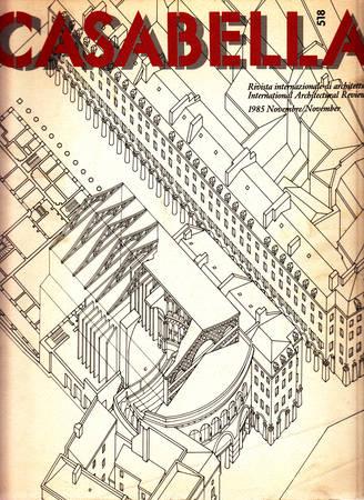 Casabella. 518. Novembre 1985