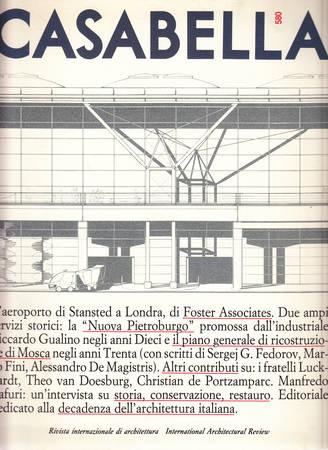 Casabella. 580. Giugno 1991