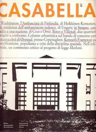 Casabella. 617. Novembre 1994