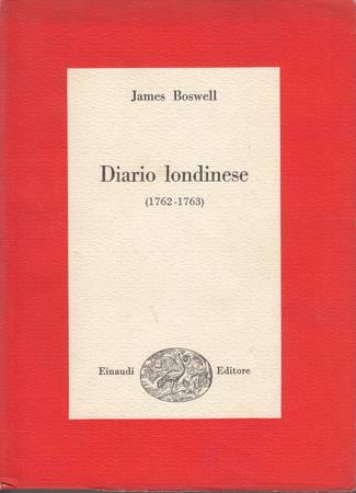 Diario londinese (1762-1763)