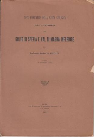 Note esplicative della carta geologica dei dintorni del Golfo di Spezia e Val di Magra inferiore