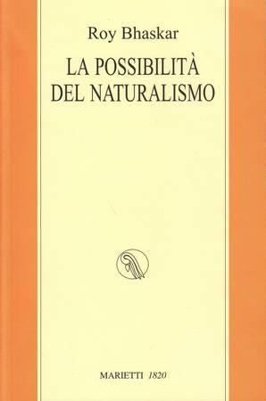 La possibilità del naturalismo