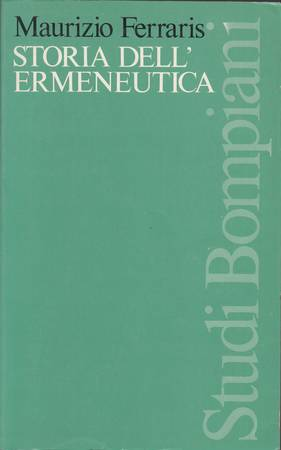 Storia dell'ermeneutica