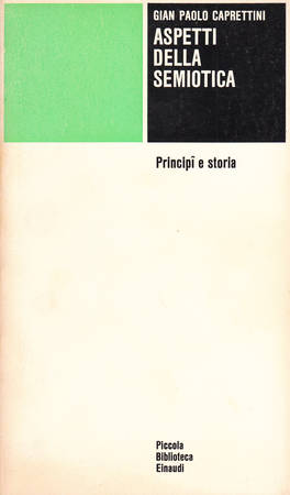 Aspetti della semiotica. Principi e storia