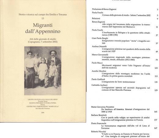 Migranti dall'Appennino