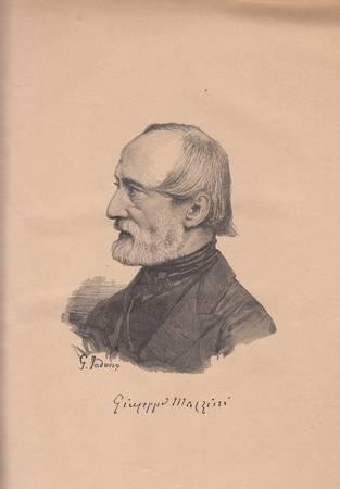 Della vita di Giuseppe Mazzini per Jessie W. Mario. Opera illustrata con i ritratti e composizioni d'insigni artisti