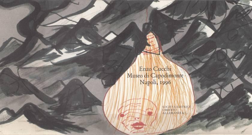 Enzo Cucchi, Museo di Capodimente Napoli, 1996 - Simm' nervusi - Il catalogo dei cataloghi