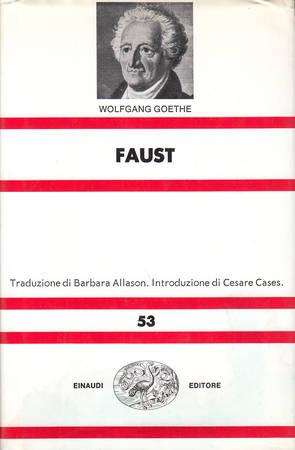 Faust [Attenzione: tracce di umidità sulla copertina e sopracopertina]