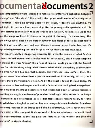 Documenta X documents 1 [English-Deutsch]