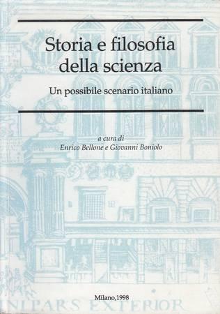 Storia e filosofia della scienza. Un possibile scenario italiano