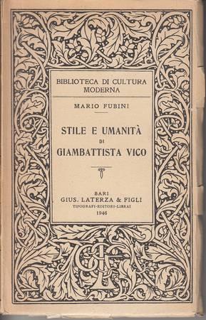 Stile e umanità di Giambattista Vico