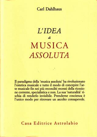 L'idea di musica assoluta