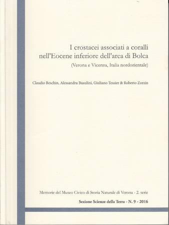 I crostacei associati a coralli nell'Eocene inferiore dell'area di Bolca (Verona e Vicenza, Italia nordorientale)